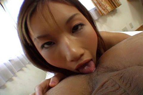 Maria Fujisawa licks ass and sucks cock