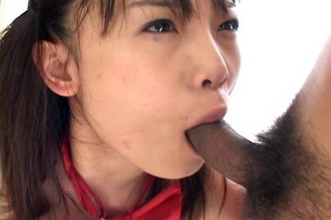 Riku Shiina is stripped and has hot group sex